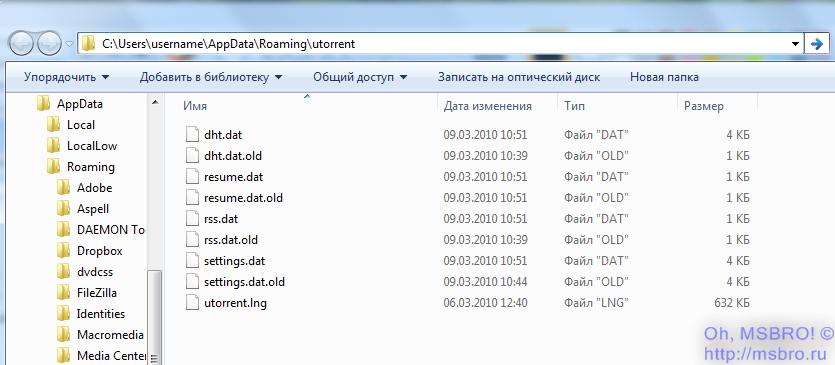 Utorrent resume dat